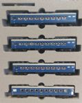 Kato 10-1349 Ondo Sleeper Express 4 Car Add-On Set
